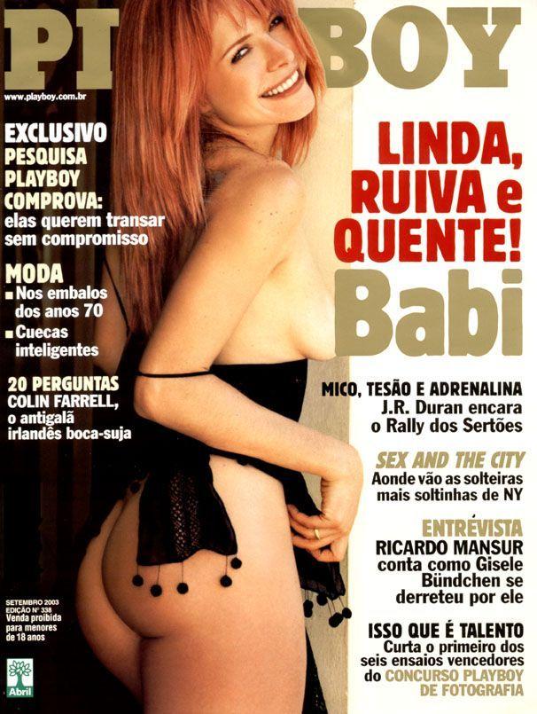 capa-revista-playboy-Babi Xavier-Setembro-2003-editora-abril