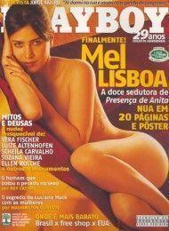 capa-revista-playboy-Mel Lisboa-Agosto-2004-editora-abril