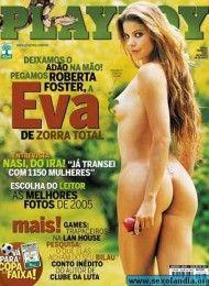 capa-revista-playboy-Roberta Foster pelada na playboy -Janeiro-2006-editora-abril
