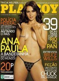 Ana Paula Oliveira pelada na Playboy Julho de 2007