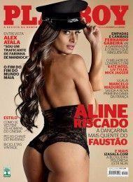 Aline Riscado pelada na playboy – Junho de 2012