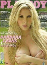 Bárbara Evans pelada na playboy – Dezembro de 2011