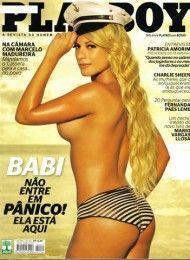 Babi Rossi pelada na playboy – Abril de 2011