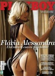 Flávia Alessandra pelada na playboy – Dezembro de 2009