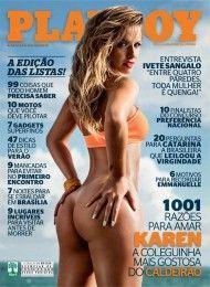 Karen Kounrouzan pelada na playboy – Novembro de 2012