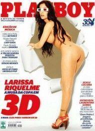 Larissa Riquelme pelada na playboy – Setembro de 2010