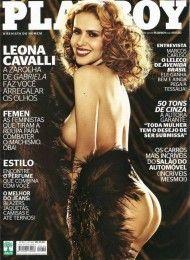 Leona Cavalli pelada na playboy – Outubro de 2012