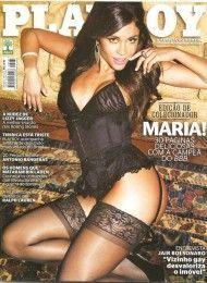 Maria Melilo pelada na playboy – Junho de 2011