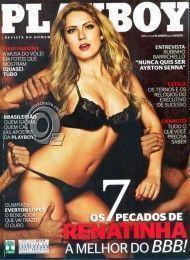 Renata Dávila pelada na playboy – Maio de 2012